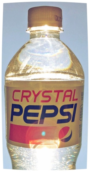 Crystal Pepsi: Another ghost haunting the realm of F&B fads.