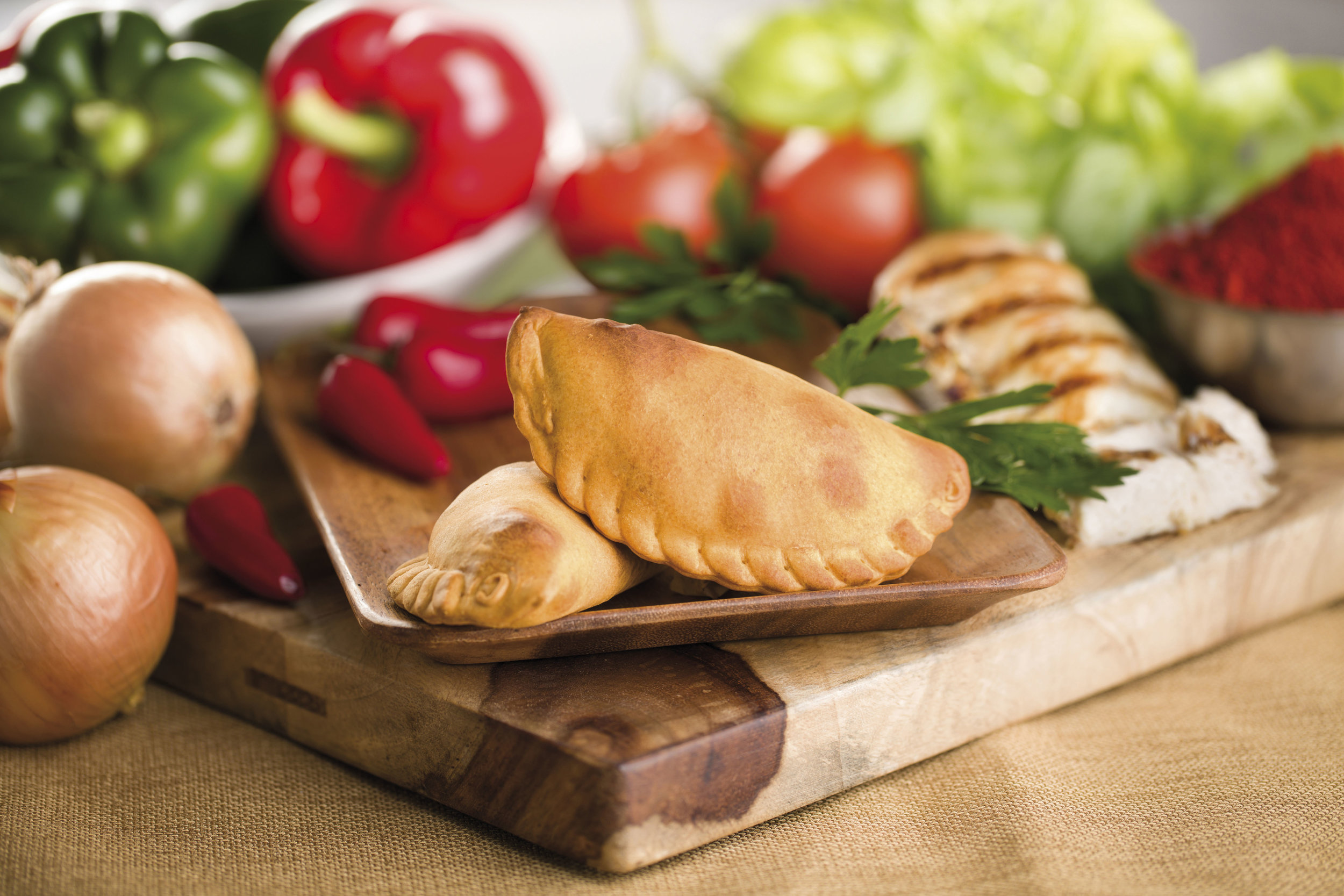 Nuchas's empanada - a vessel of flavors from around the world