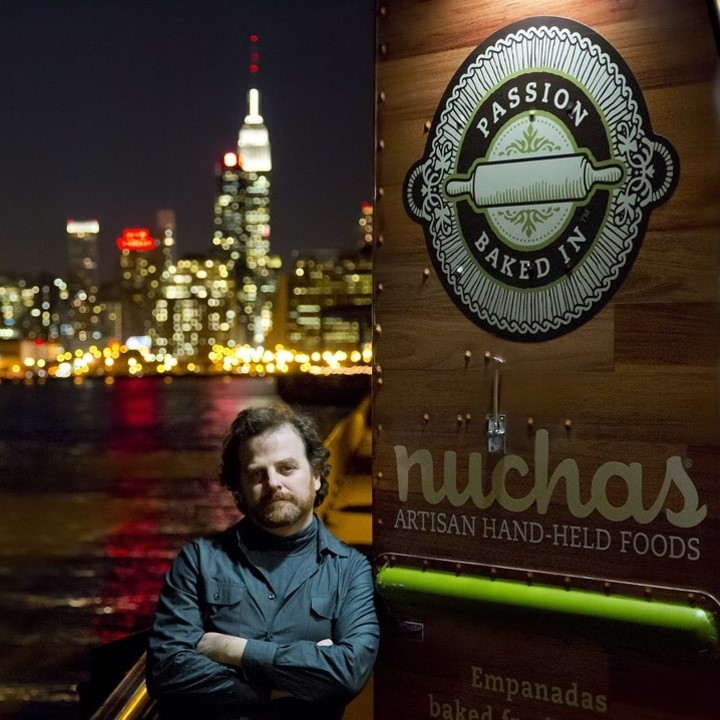 Ariel Barbouth, founder and CEO of Nuchas Artisan Hand-Held Foods