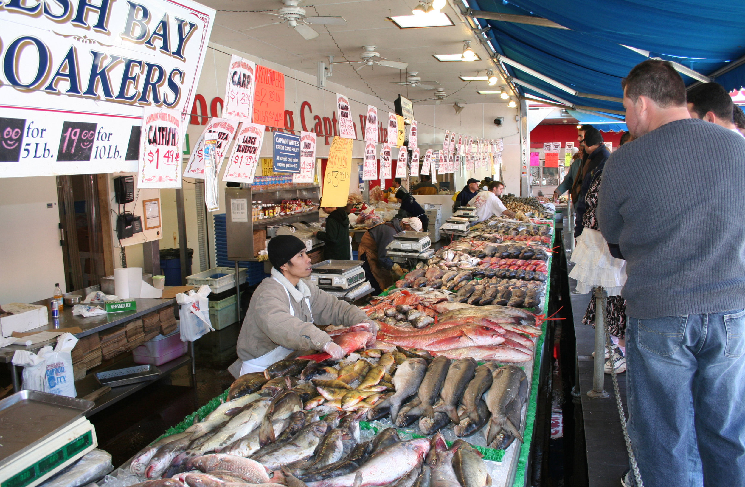The  Maine Avenue Fish Market : A perfect example of economic agglomeration