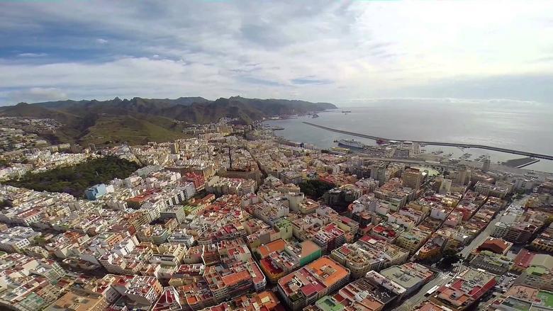 Santa Cruz, the co-capital of the Spanish Autonomous Community of the Canary Islands