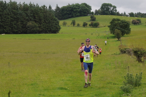 The first Offa's Dyke race from X to Y,