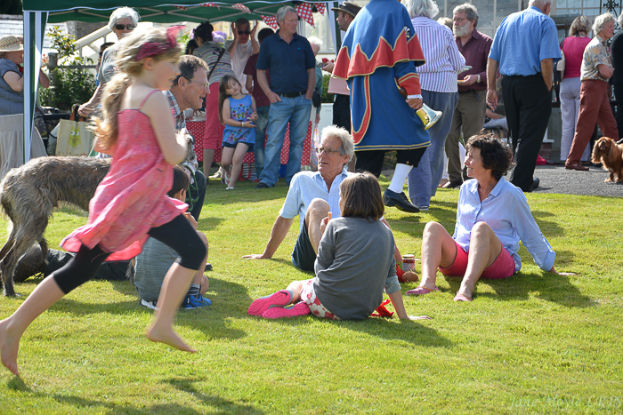 Huntington's village fete has been on the third Saturday in July since 1954