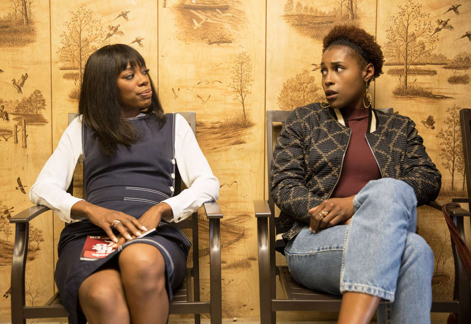 Fashionista — Costume Designer Ayanna James Sees HBO's 'Insecure' As A Platform To Promote Independent, Black Fashion Brands - Similar to Girls and Broad City before it, the costuming on Insecure so accurately mirrors what ladies dress like today — contrast with, say, the hyper-glamorous Sex and the City — that it's easy to imagine each cast member showed up to set in her own clothes. In reality, it's the hard work of costume designer Ayanna James who brings Issa, Molly, Lawrence, and the rest of the cast to life with scene-specific outfits.
