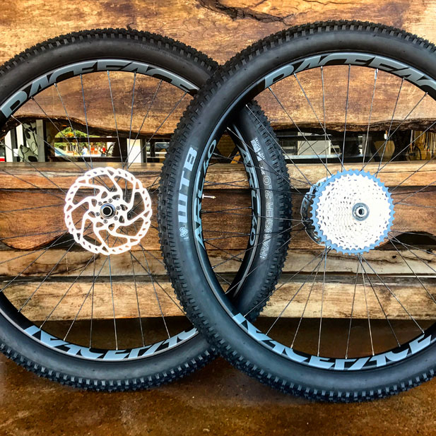 Hope Pro 4 hubs with Race Face Arc 40 rims & 29+ tires