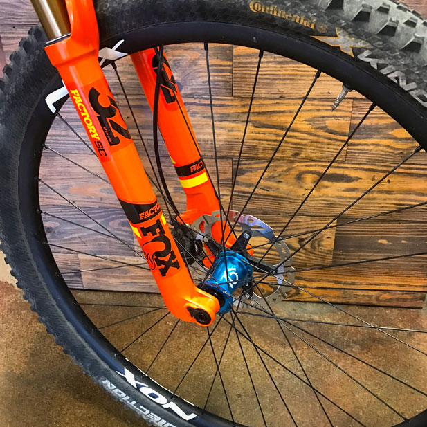 Industry Nine Torch hubs with NOX Composites carbon rims