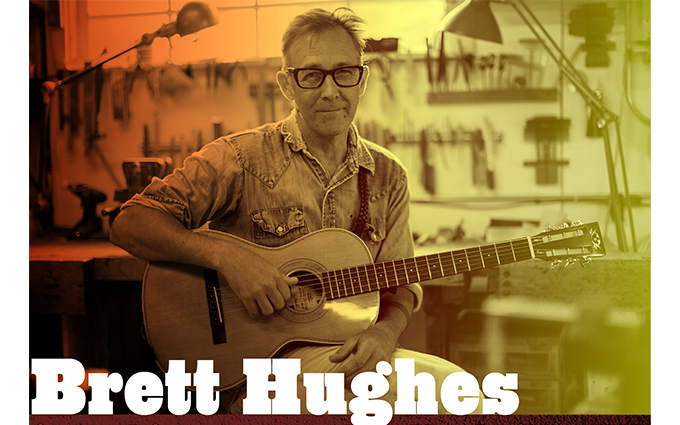 Join us this Thursday, 5/9 for incredible musicianBrett Hughes! He has been a long-time mainstay (and champion!) of Burlington, Vermont's dynamic music scene as a songwriter, singer, guitar player, band leader and engineer/producer. He hosted the beloved Honky Tonk Tuesday residency at Burlington's Radio Bean for over ten years, and took the show on the road to Bonnaroo with Mike Gordon (Phish) as Ramble Dove. Along the way he won a regional Emmy Award for composition, fronted or has been part of several seminal Vermont-based bands, and recorded and played on projects with Eugene Hutz (Gogol Bordello), The Barr Brothers' project Surprise Me Mr. Davis, NOLA's Duke Aeroplane & The Wrong Numbers and many local artists. He spent much of 2017 touring with Nashville-based Shannon McNally, who has made her records with Charlie Sexton (Bob Dylan's band leader), Dr. John, the late Jim Dickinson (Rolling Stones, North Mississippi All-Stars) and legendary songwriter Rodney Crowell. And he's been working on his own album too! See you on Thursday-music starts at 7!
