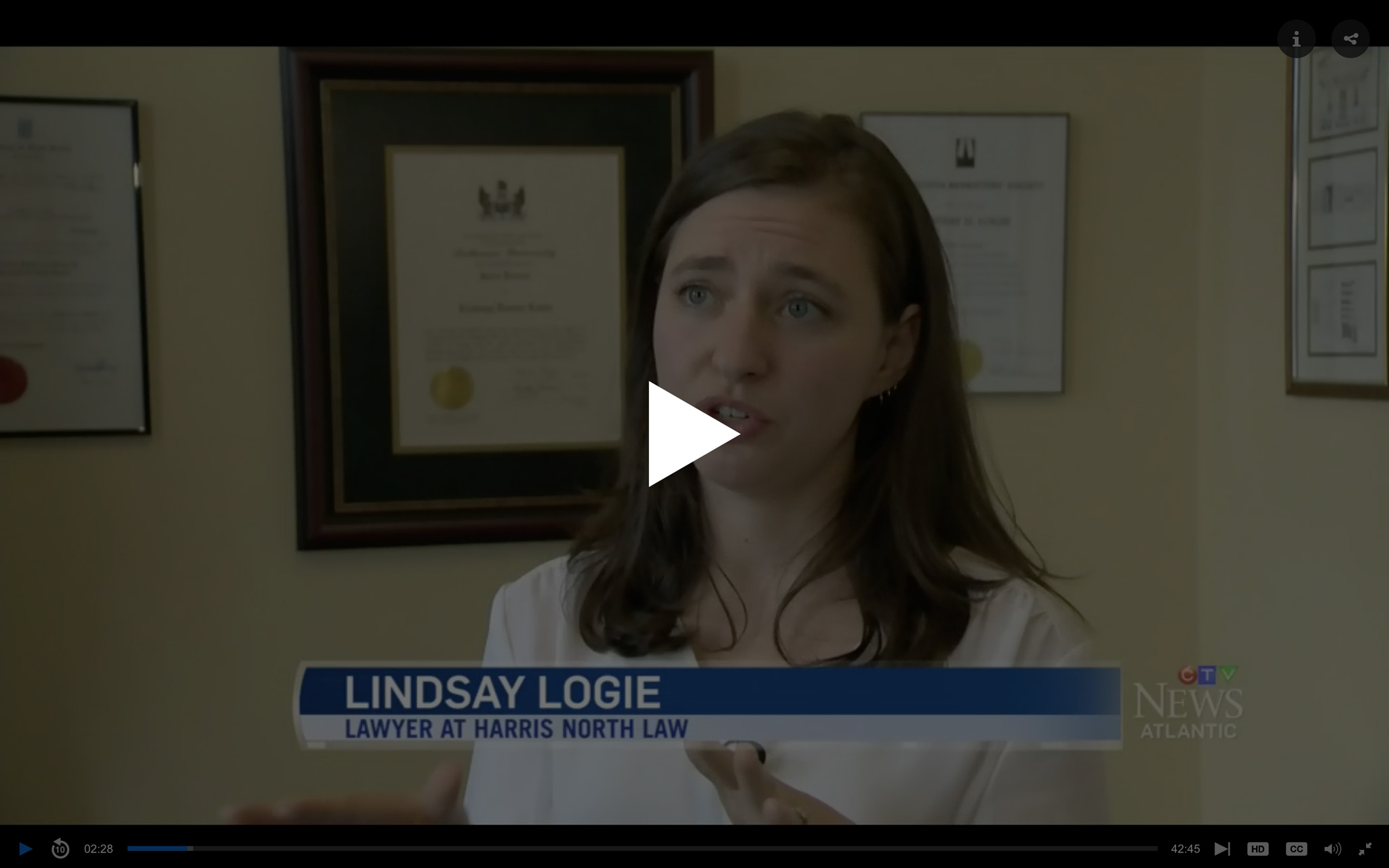 CLICK TO WATCH LINDSAY ON CTV