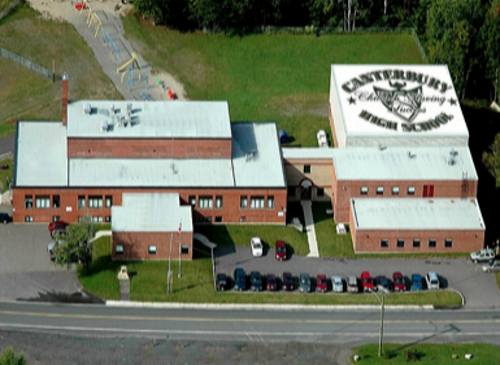 CANTERBURY HIGH SCHOOL, NB