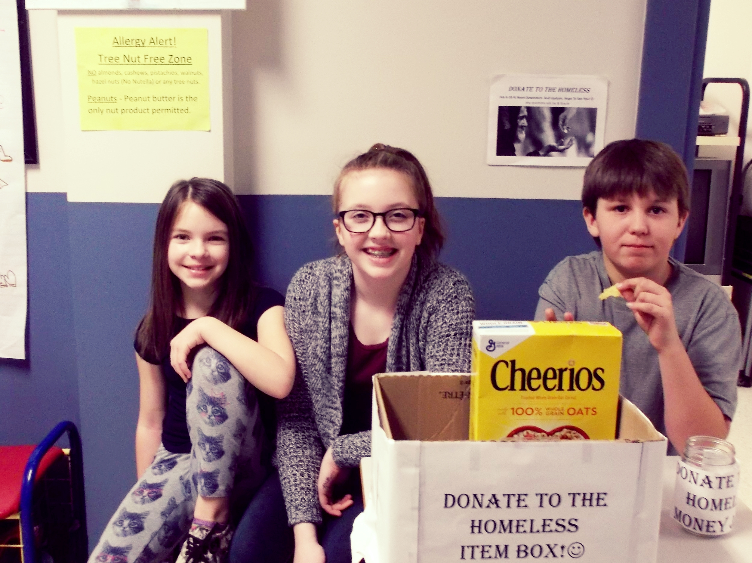 Taking Action For the Homeless: Five grade 6 students realized a need and wanted to help. They created posters, made daily announcements and rallied up other students to help collect items and monetary donations. For two weeks they worked at stations within the school during their breaks. They arranged to deliver items and donations to the Fredericton Homeless Shelter.  Nobody starts out homeless. However, during one's lifetime, various circumstances turn necessities we all take for granted, like food and shelter, into scarce resources. Whether it be mental health issues, addiction or family circumstance, some people lose their way. Most of us are too busy to see the problem of homelessness dismissing it's existence. But we can't dismiss the human being. Someone's brother, father, son, sister, mother and daughter