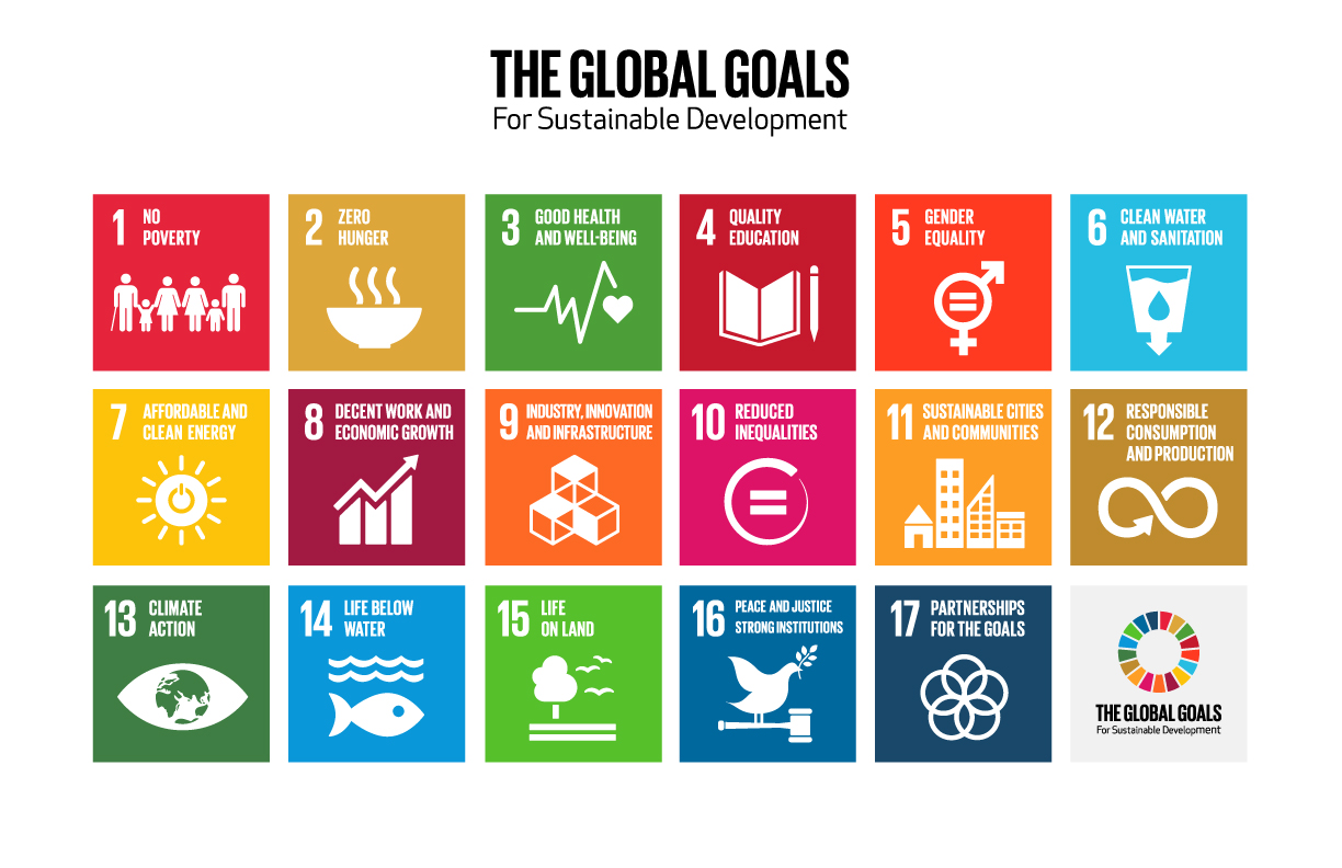 Click on the image to download a SDG poster and SDG word search!