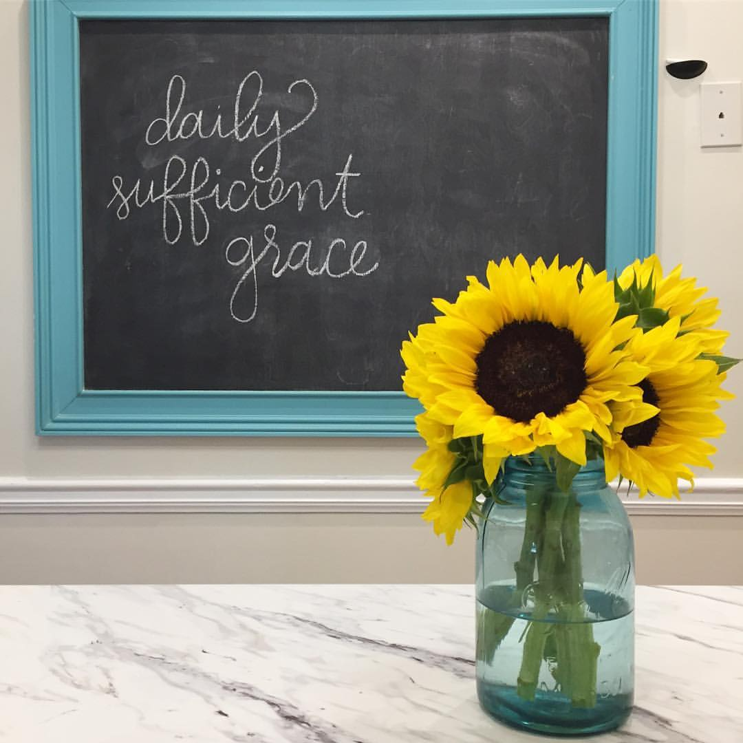 daily-sufficient-grace-sunflower-chalkboard