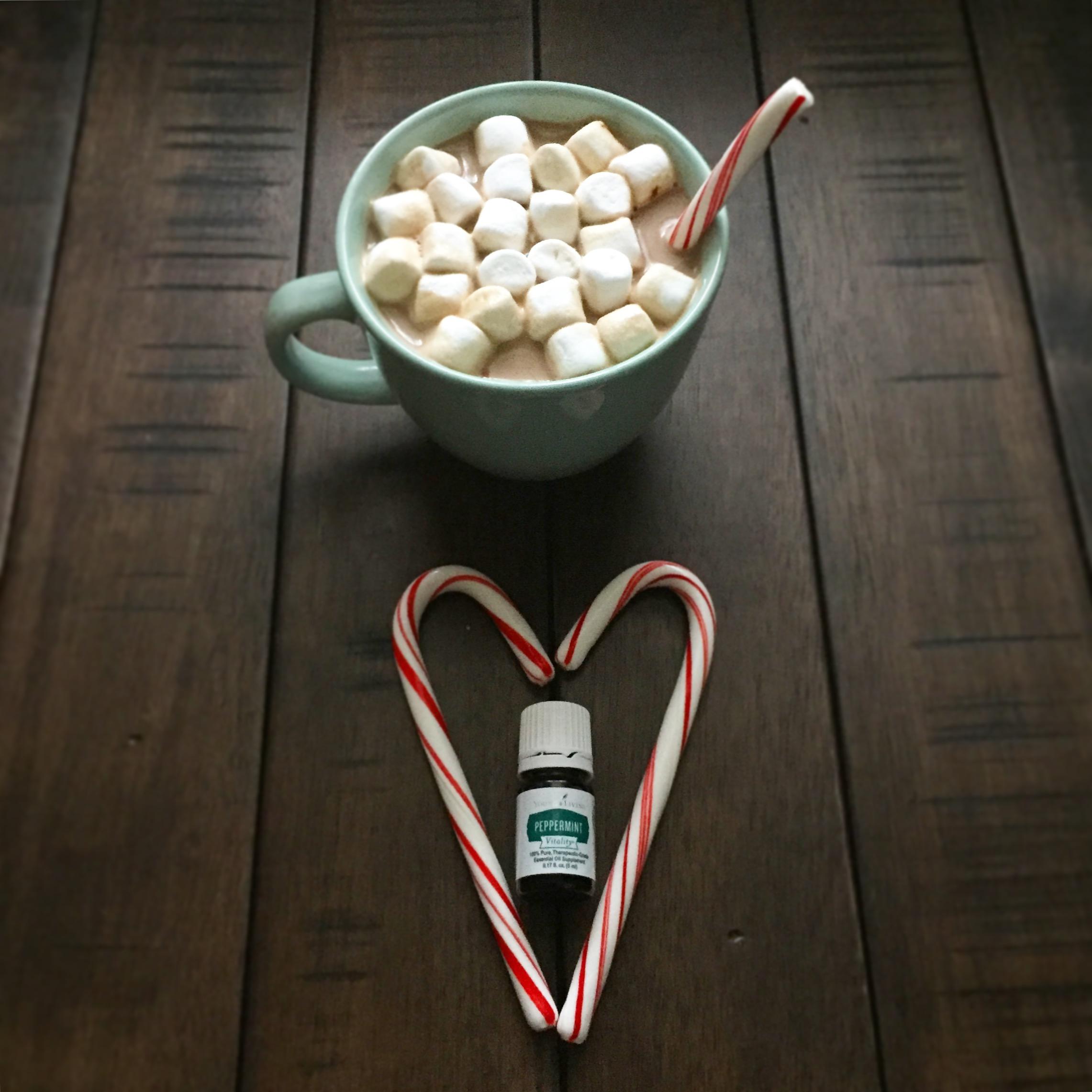 peppermint mocha recipe drink essential oils