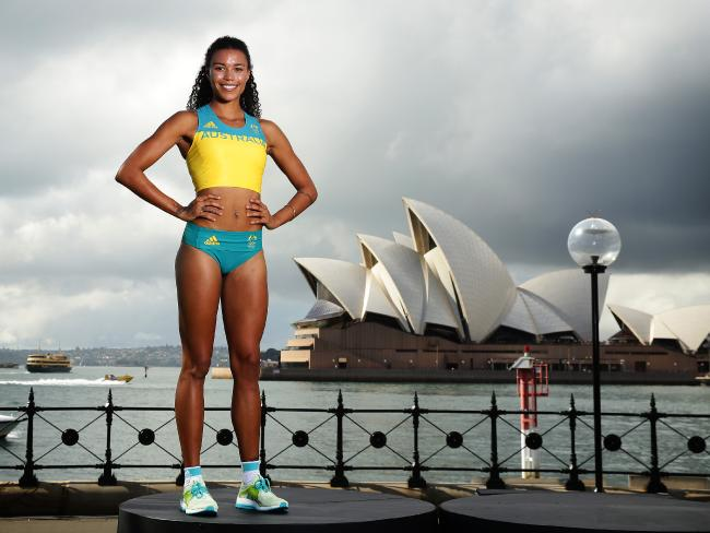 Morgan Mitchell, 400 metre runner and long-jumper (Australia)