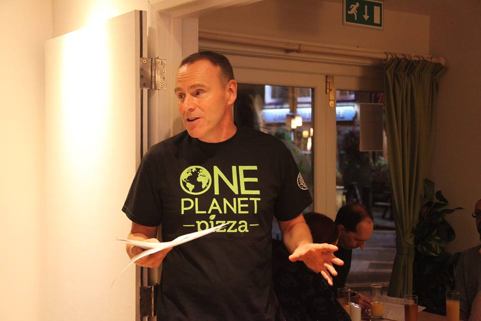 Mike Hill, One Planet Pizza
