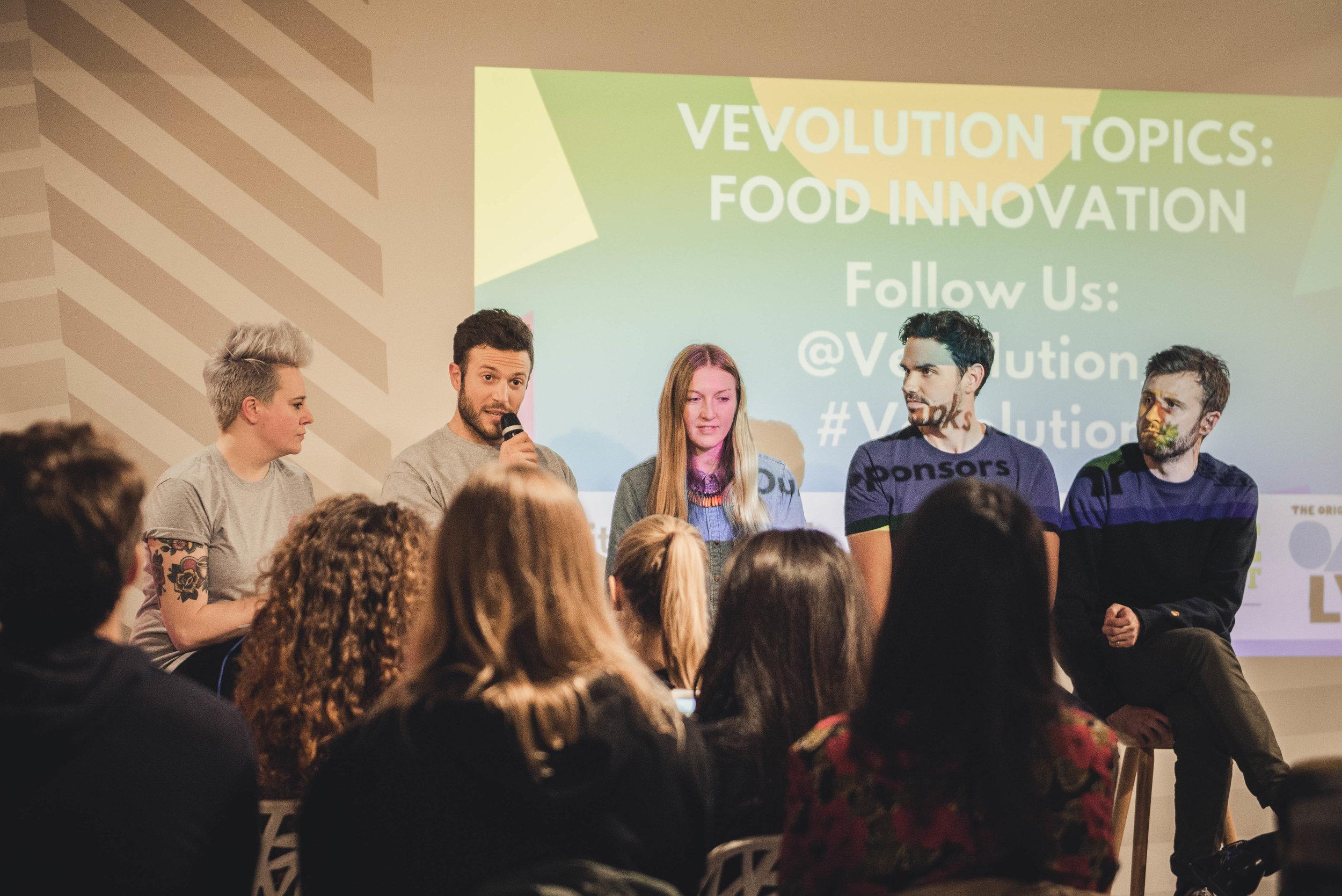 Vegan Food Leaders At Vevolution