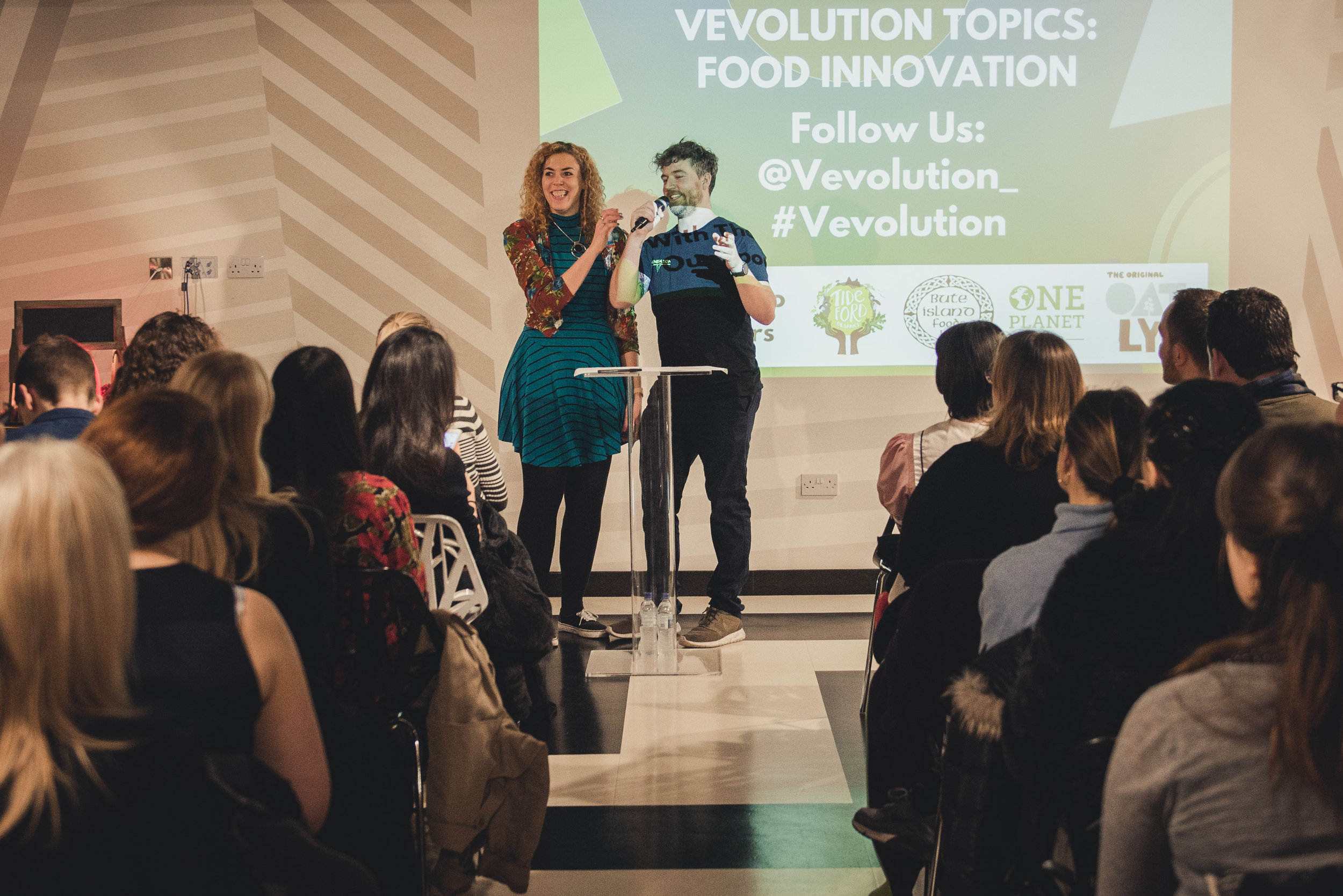 Damien Clarkson and Judy Nadel, Vevolution Co-Founders