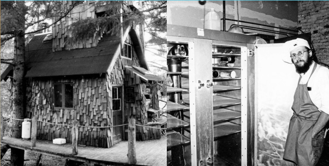 Seth Tibbott, Founder of Tofurky and his treehouse in the 1980's