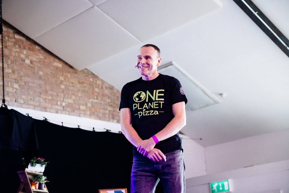 Mike Hill, One Planet Pizza at Vevolution Festival 2016