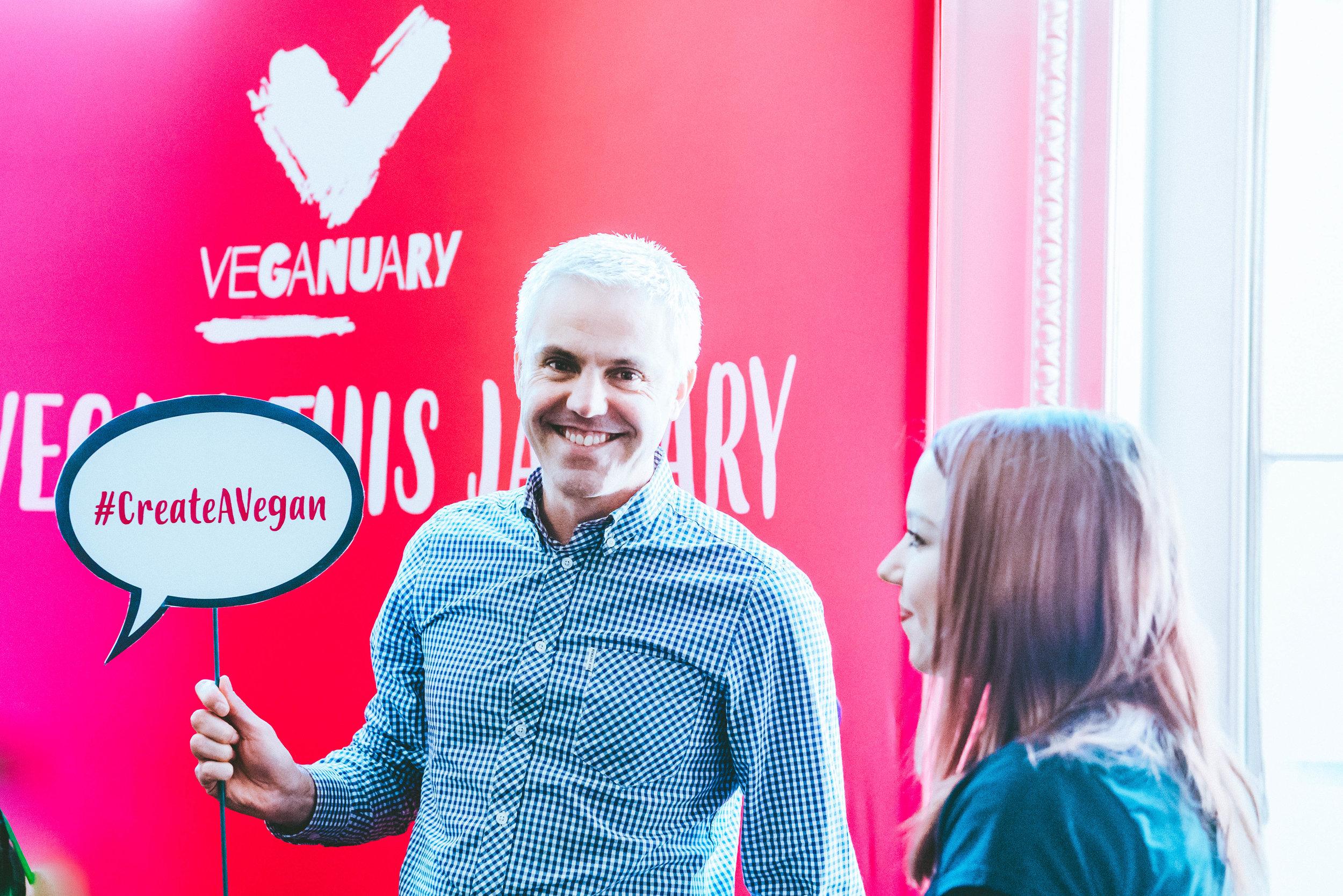 Matthew Glover, Co-Founder of Veganuary at Vevolution Festival 2017