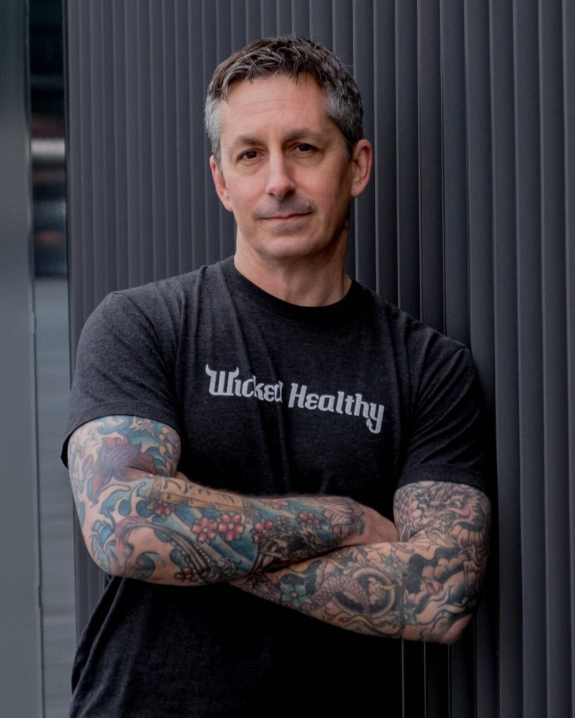 Head Plant-Pusher, Derek Sarno, Head Of Plant-Based Food Innovation At Tesco and Director of Wicked Healthy
