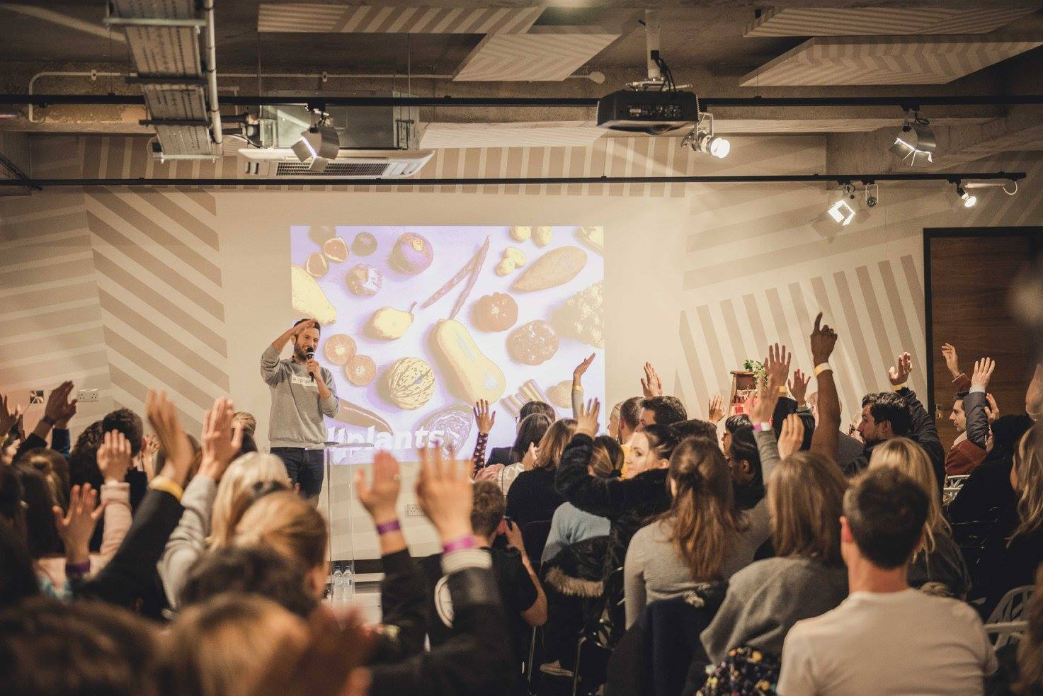 Jonathan Petrides,  allplants  at Vevolution Topics: Food Innovation 2017