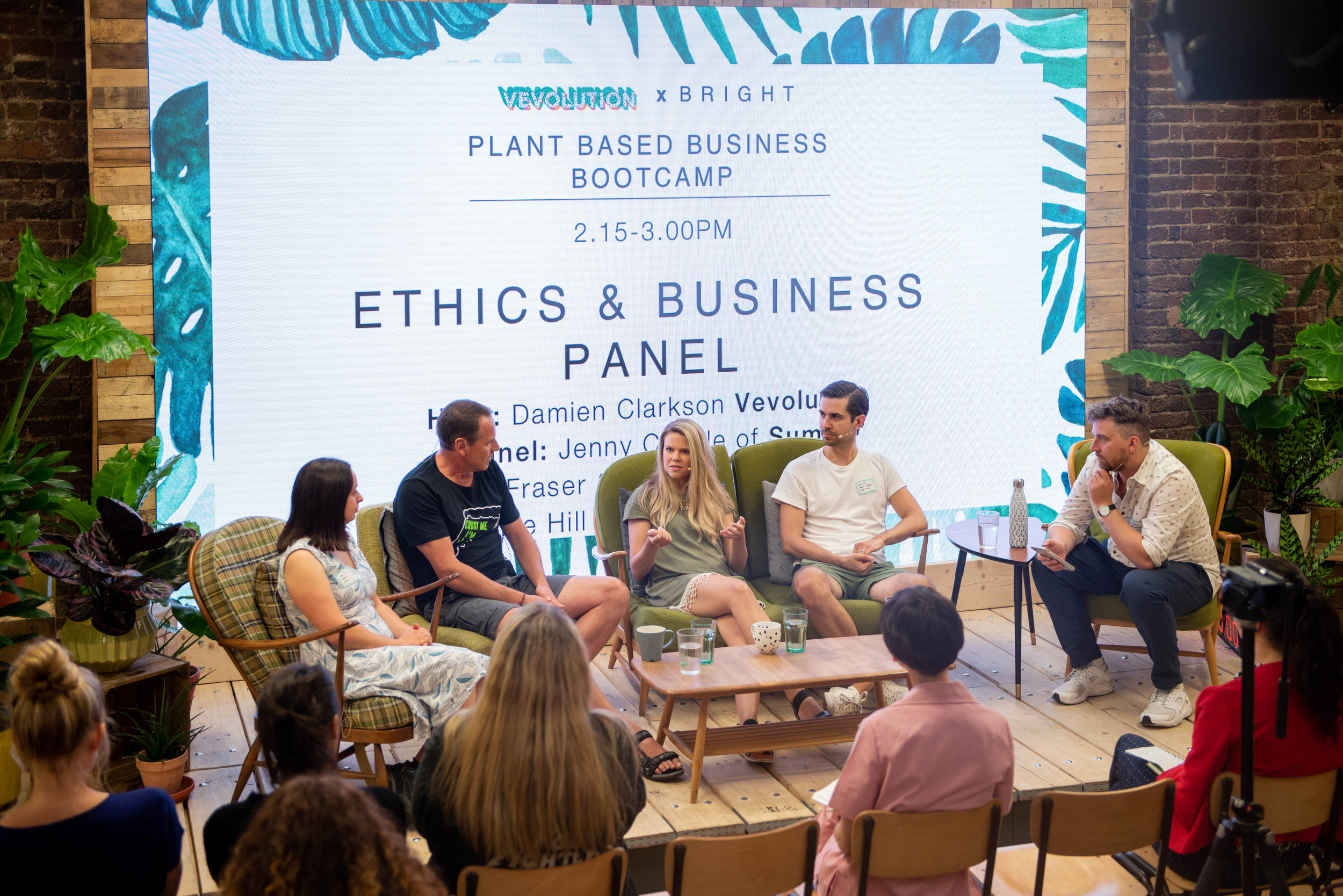 Ethics Panel At The Plant Based Business Bootcamp