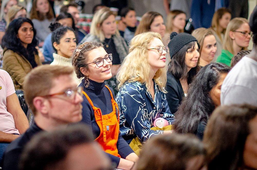 Crowd at Vevolution Topics 2018