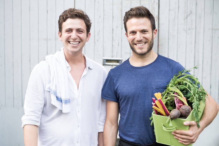 Alex Petrides and Jonathan Petrides Founders of allplants