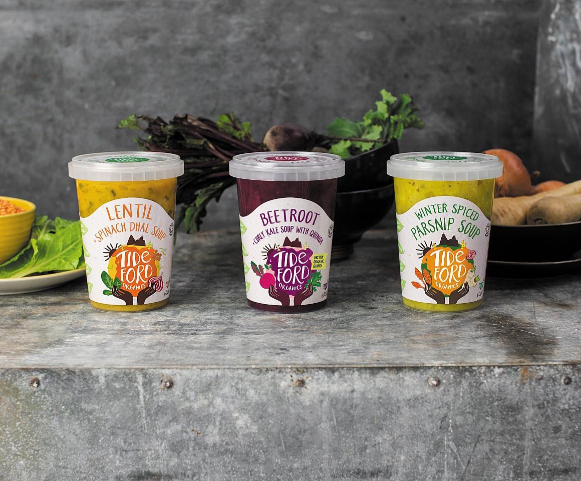 Tideford Organics New Range Of Winter Warmer Soups