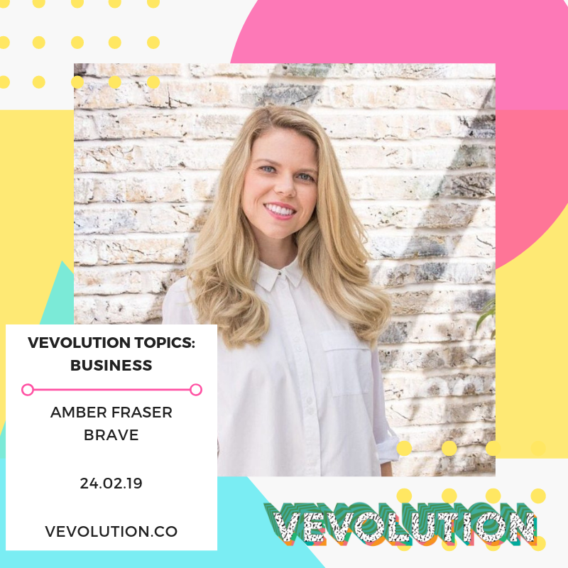 - Self-confessed pea-enthusiast, Amber Fraser, launched BRAVE with her husband, Seb. They both carefully plotted their transition from their corporate jobs to running their own successful plant-based food company. Amber is going to be on the investment panel.