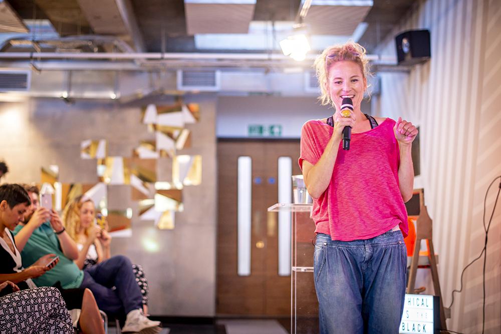 Natalie Dean at Vevolution Topics.