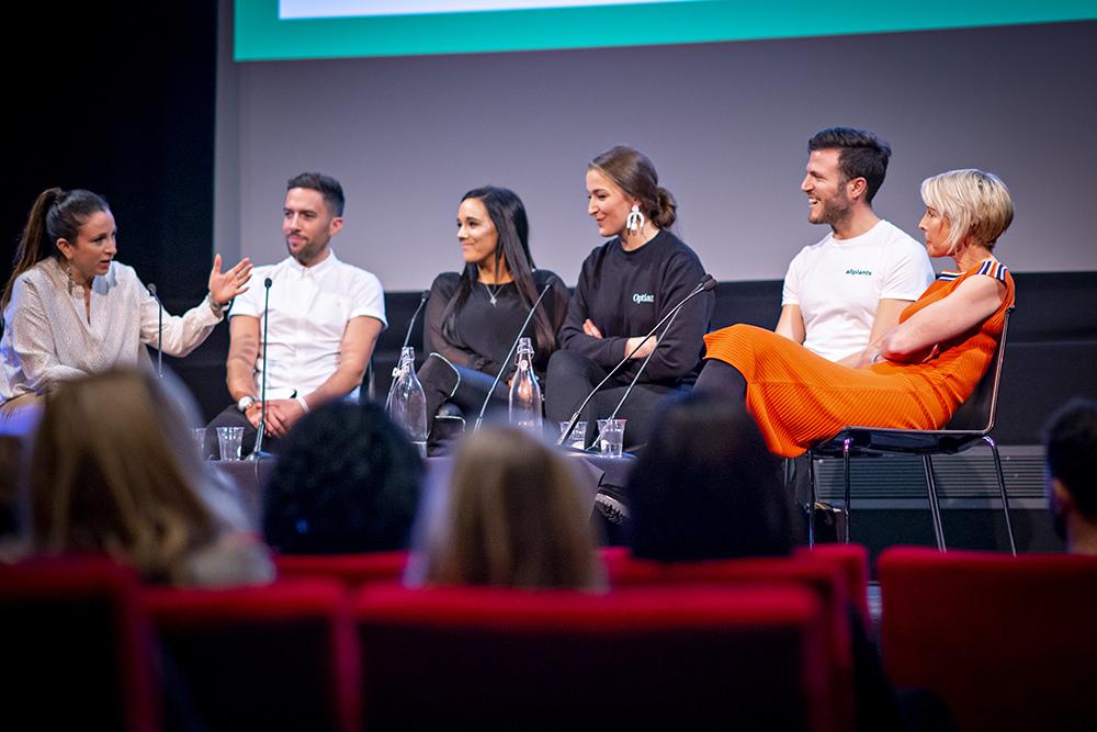 Business Panel at Vevolution Festival 2018.
