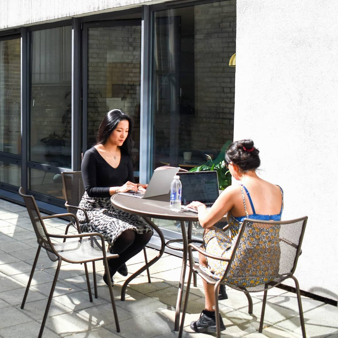 Workspace Wednesday with Blooming Founders