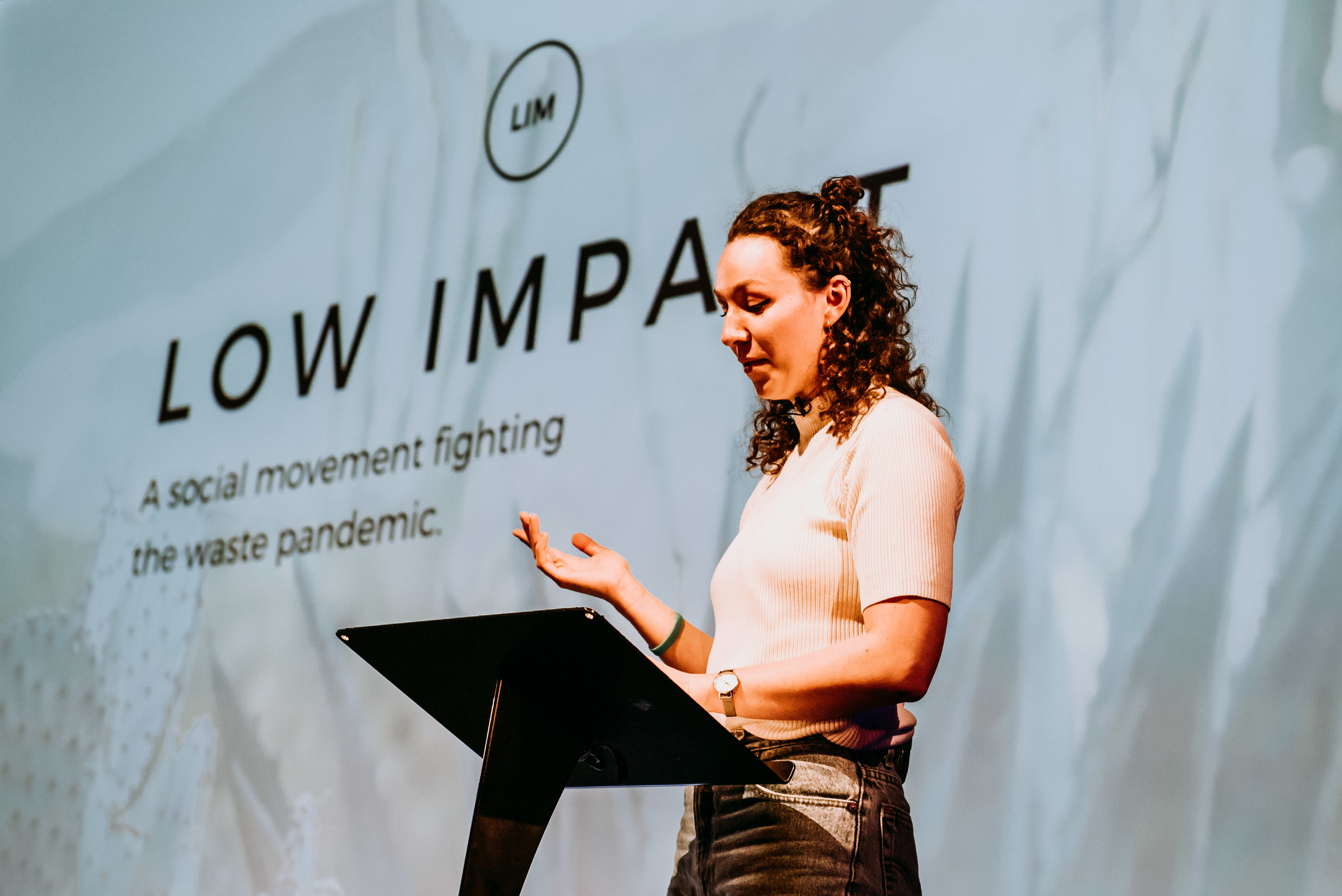 Immy Lucas talking about low impact living