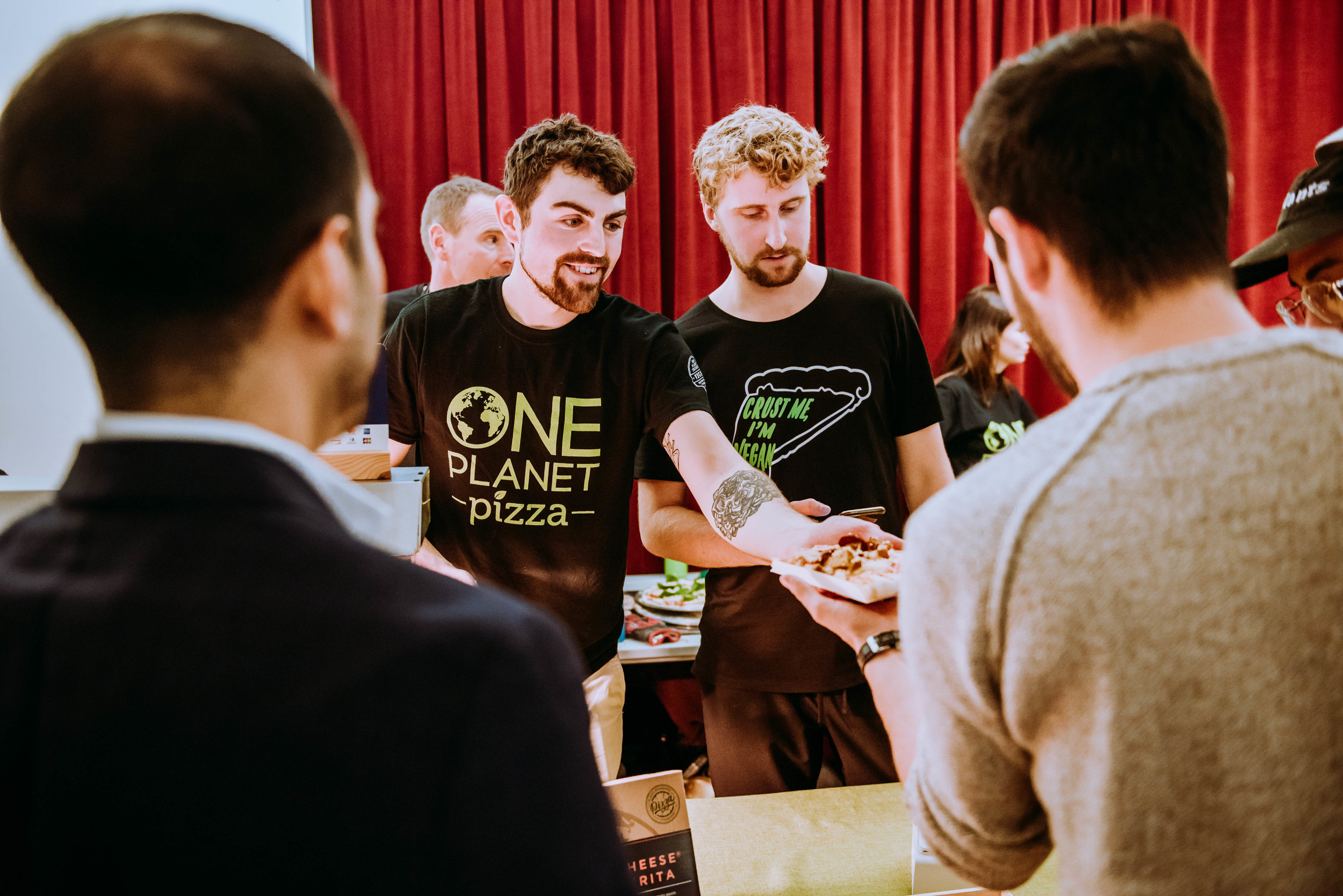 One Planet Pizza at Vevolution Festival 2018