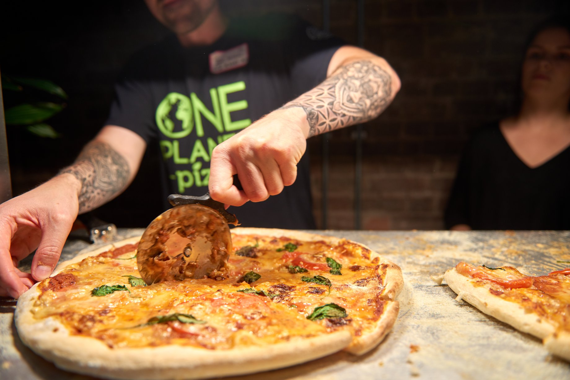 One Planet Pizza at Plant Based Business Bootcamp 2019