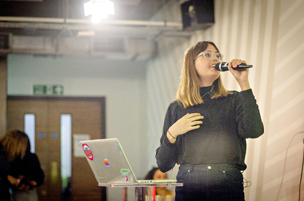 Grace at Vevolution Topics: Entrepreneurs 2018