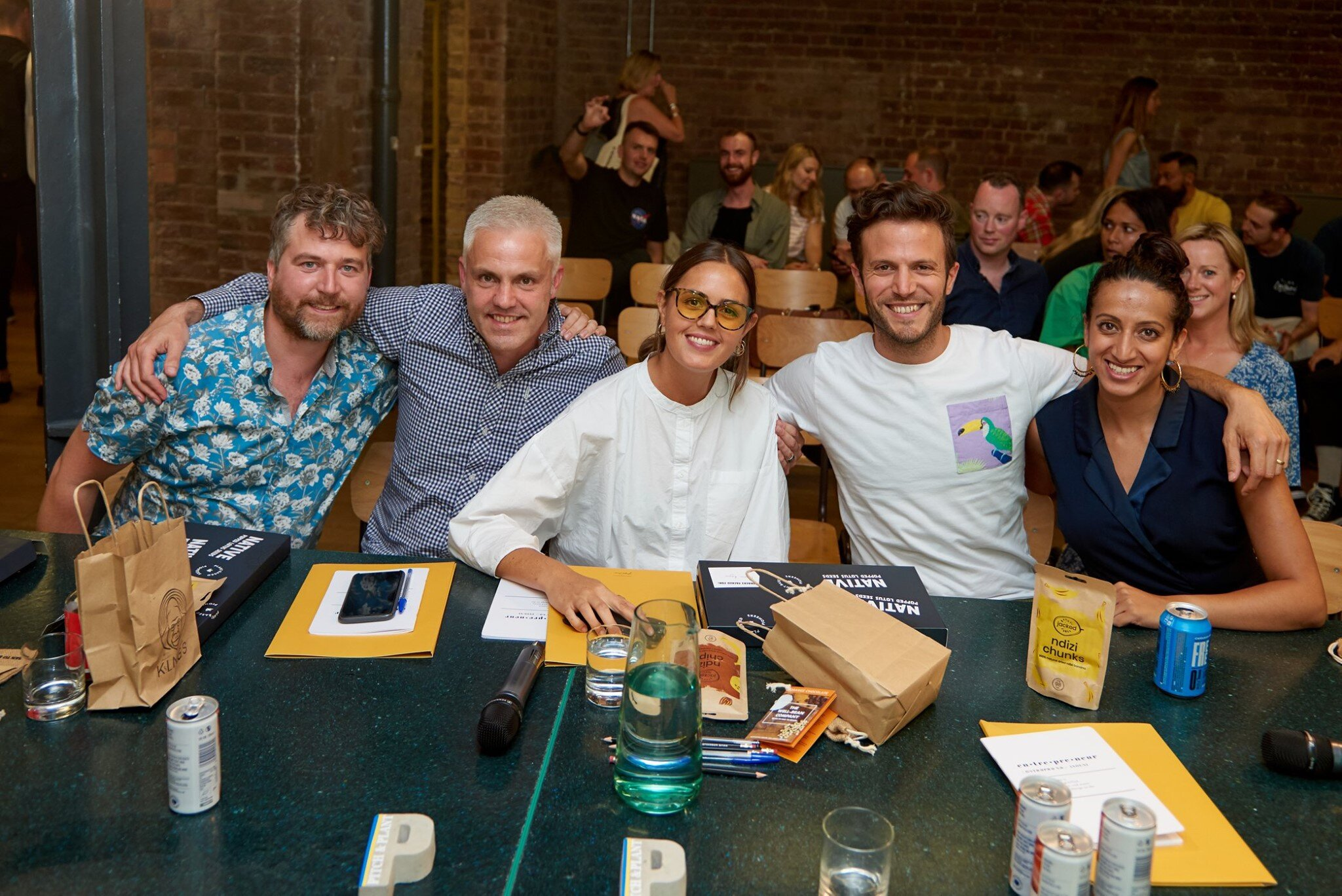 Grace as a judge at Pitch + Plant 2019