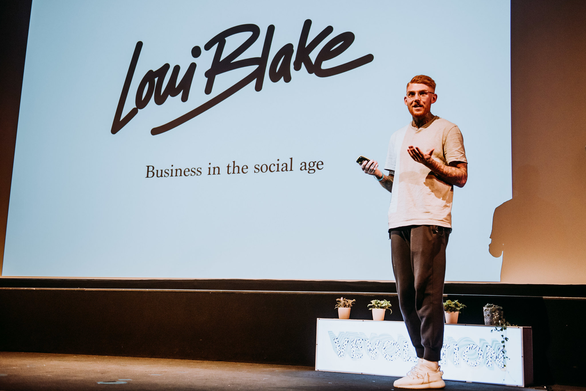 Loui Blake, Co-Founder of Erpingham House at Vevolution Festival 2019