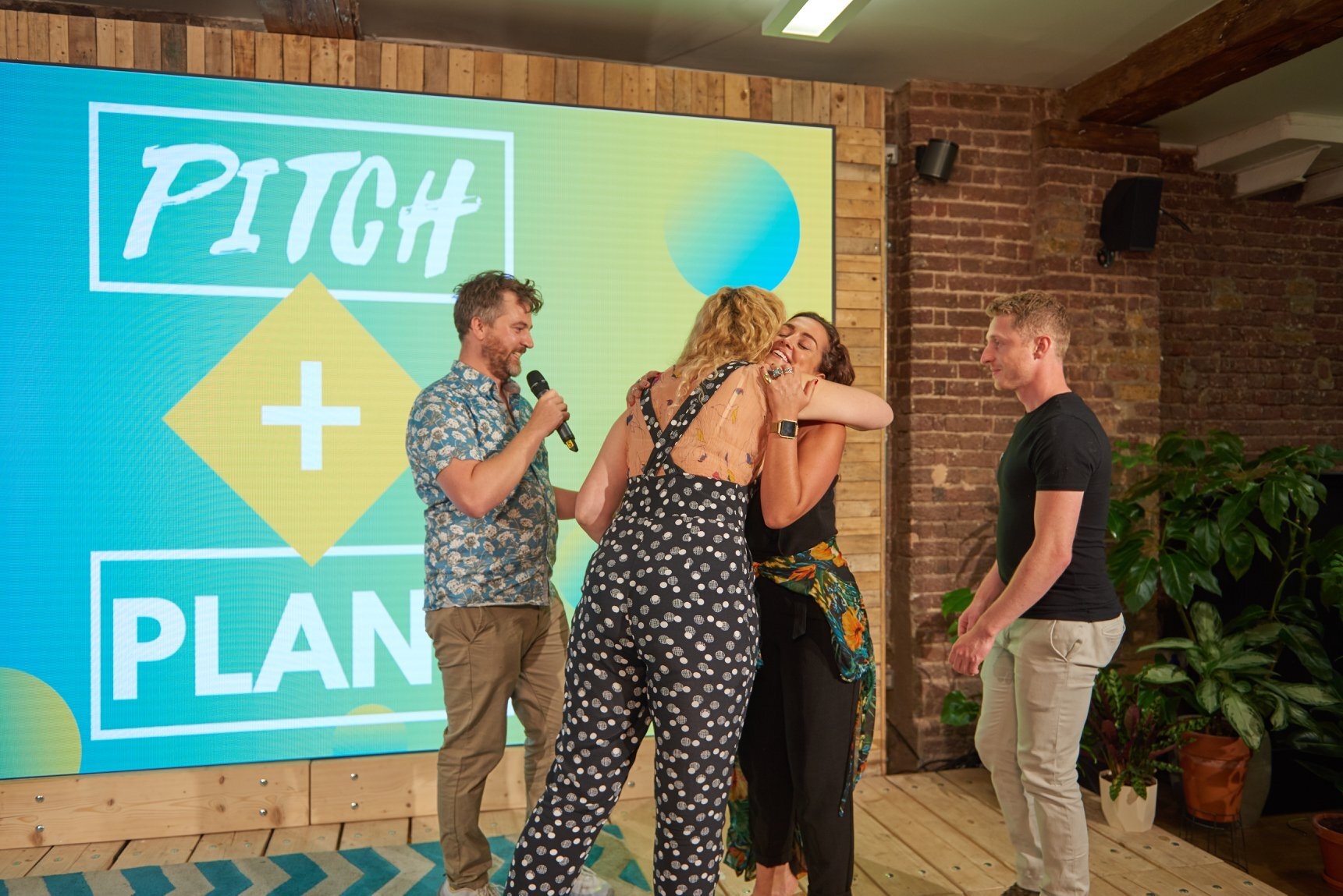 Well Bean Co were one of the winners of Pitch + Plant 2019