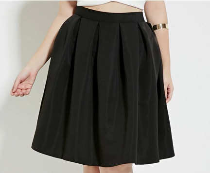 Plus Size Pleated Skirt   Forever 21 PLUS   2000185683.jpeg