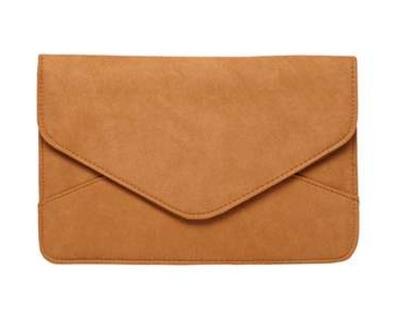 Tan Faux Suede Clutch Bag   Dorothy Perkins United States.jpeg