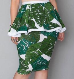 Tayo Skirt   Green Leaf   Rue107.jpeg