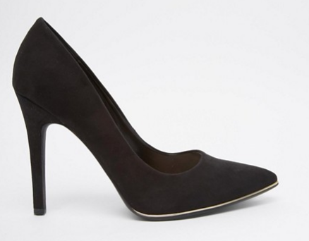 New Look Wide Fit   New Look Wide Fit Pointed Pumps.png