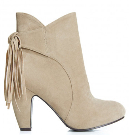 Wide Width Turner Faux Suede Fringe Booties   Fashion to Figure.png