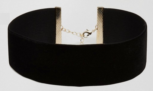 ASOS   ASOS NIGHT Velvet Choker Necklace.png