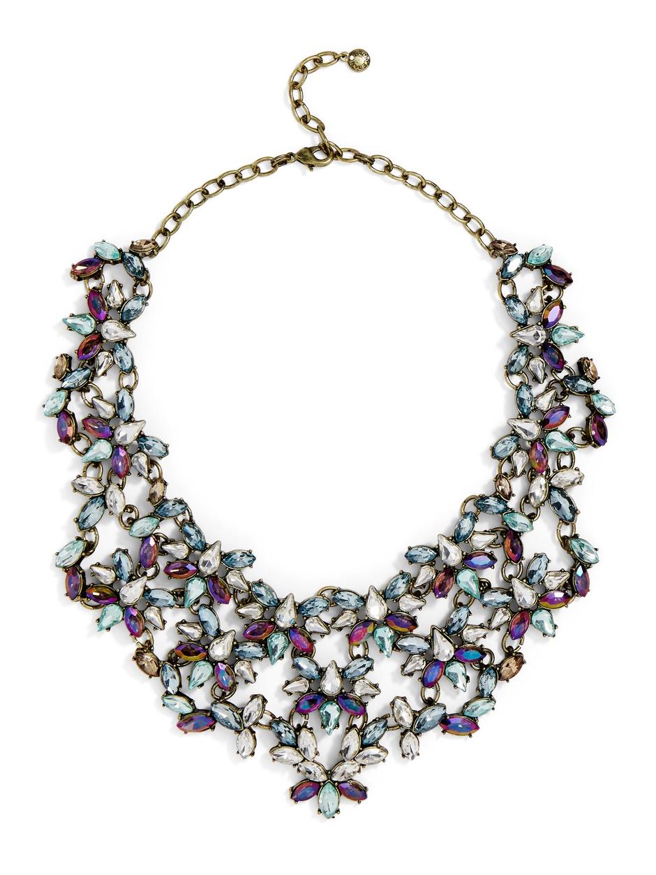 BaubleBar Majesty Crystal Bib