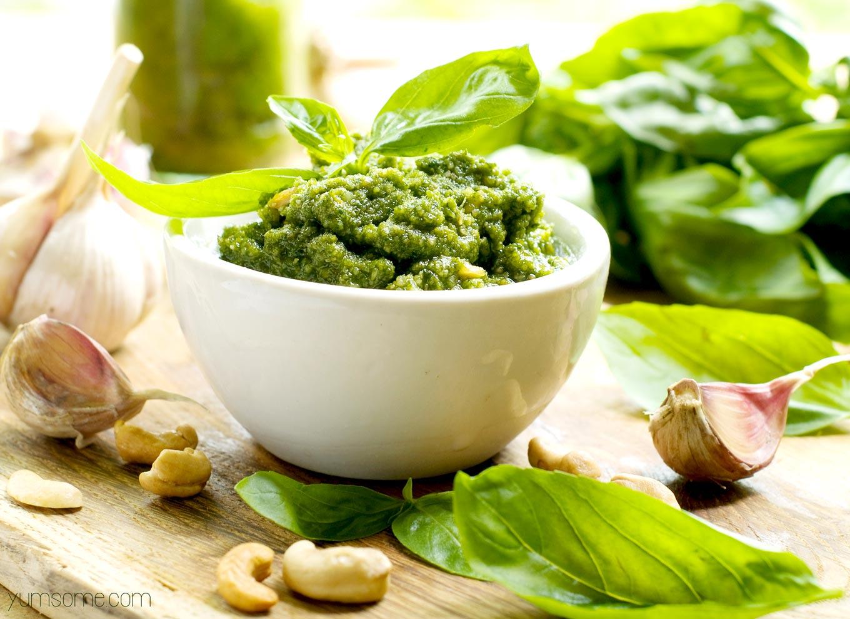 Yumsome - Healthy 5 Minute Vegan Cashew Pesto