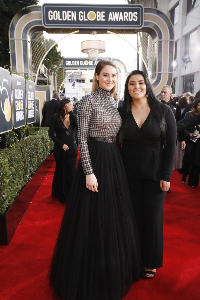 Shailene Woodley attended with Calina Lawrence, a Native activist